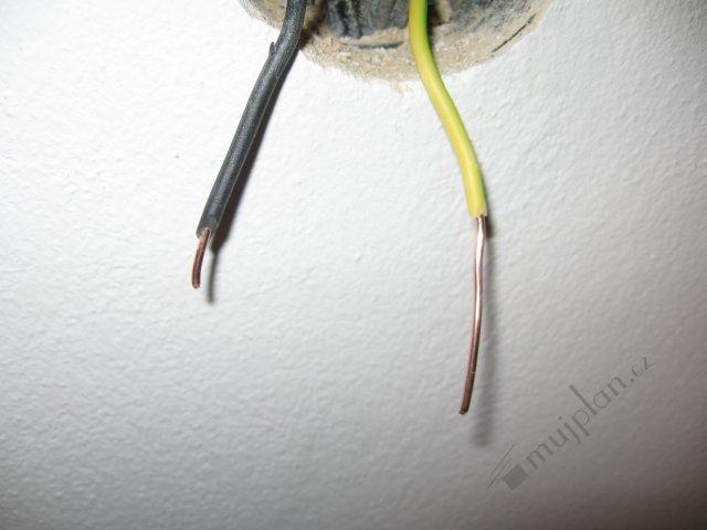 Zapojení zásuvky 4 dráty